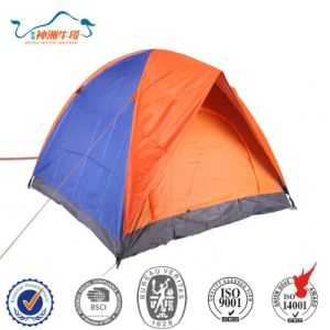 Double layer Windproof Outdoor Hiking Camping Tent