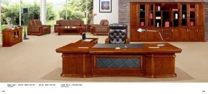 Classic Empire Series CEO Office Desk with Side Reurn GS-A90-36