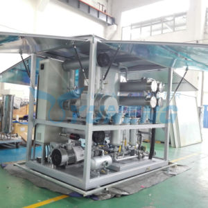 Double Stage High Efficiency Vacuum Transformer Oil Purifier Machine pictures & photos