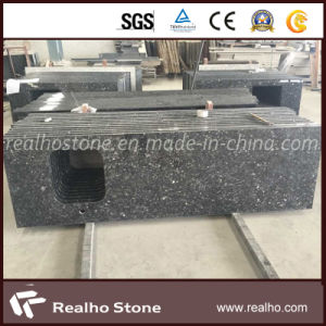 Blue Pearl Precut Granite Kitchen Countertops with Sink Hole pictures & photos