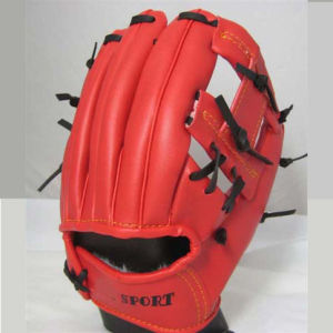 Baseball Glove, Leather/PU/PVC Material (B06301) pictures & photos