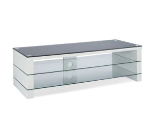 Home Furniture Exquisite Glass TV Stand (TV105) pictures & photos
