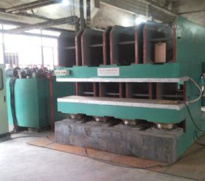 Hot Plate Vulcanizing Press Rubber Vulcanizer Machine pictures & photos