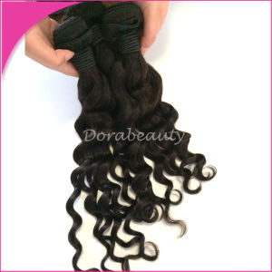 Wholesale New Style Peruvian Loose Curly Virgin Human Hair Extensions pictures & photos