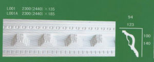 Gypsum Cornice with Nature Gypsum pictures & photos