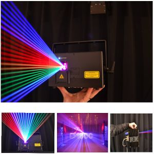 Projector 3W RGB Full Color Animation Party Bar Stage Laser Light pictures & photos