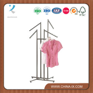 4 Way Clothing Shelf with Slanted Arms pictures & photos