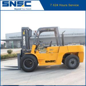 Snsc 8 Ton Diesel Forklift pictures & photos