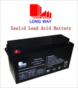 12V150ah Rechargeable Deep Cycle Solar Battery pictures & photos
