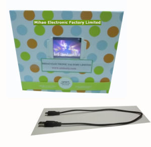 Paper File Folder With Video Player&Advertising Player