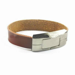 Leather Bracelet USB Drive pictures & photos
