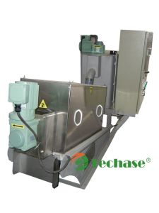 Patent Sludge Dewatering Technology-Techase Multi-Plate Screw Press pictures & photos