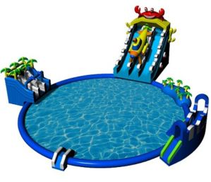 Lobster Inflatable Water Park moving inflatable water park pictures & photos