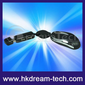 Optical Mouse With 2 Hub (MB03)