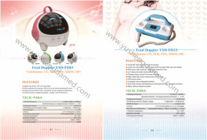 Handheld Medical Equipment Ultrasounic Baby Fetal Doppler Ysd-fd12 pictures & photos