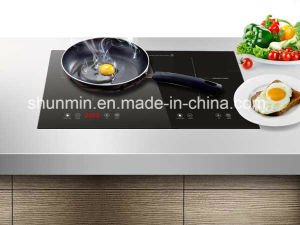 730*430mm Schott Glass and EGO Heating Element Two-Zone Built-in Induction Hob Model Sm-Dic13b pictures & photos