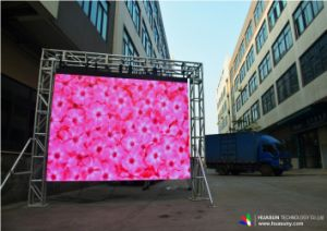 Mini Super Thin Full Color Outdoor Flexible LED Display pictures & photos
