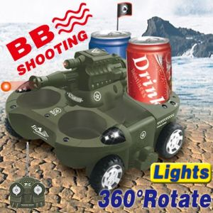 4Wheel Drive 6-channel R/C Amphibious BB Shooting Transform Tank Runs All Terrain (YD13772)