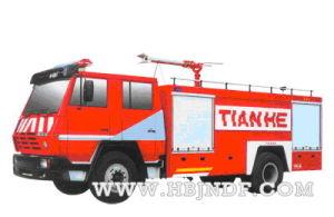 Steyr 8000l Fire Truck