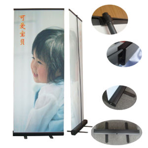 Black Color Aluminum Roll up Stand