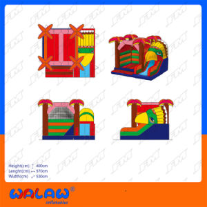 Inflatable Castles Inflatable Bouncer with Slide Jumping Castle pictures & photos