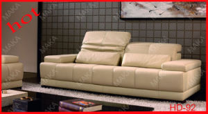Functional Leather Sofa (HD-92)