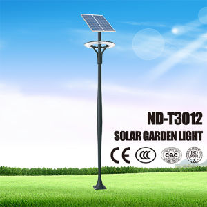 Aluminium Alloy Lamppost LED Solar Lights for Garden pictures & photos