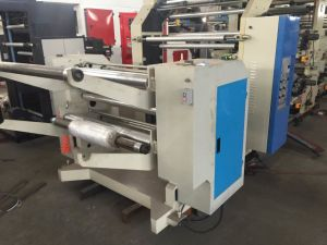 Stretch Film Cling Film Flexo Printing Machine and Rewinding Machine (NX) pictures & photos