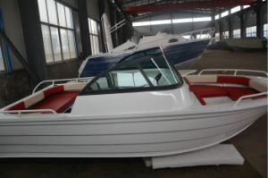 Factory Supply Aluminum Sport Fishing 5m Bowrider Boat pictures & photos
