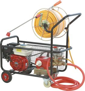 Trolley gasoline engine power sprayer TF-22/168F/RH pictures & photos