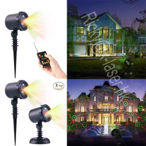 Hot Sale Christmas Decoration Light Star Laser Shower with Remote Control pictures & photos