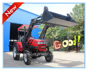 Front End Loader Attached to Farm Tractor (LZ404, TZ04D) pictures & photos