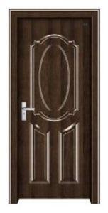 Security Steel Wooden Door (EWS010)