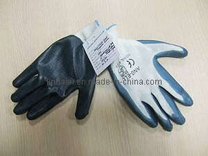 Gauge Nitrile Coated Polyester Gloves