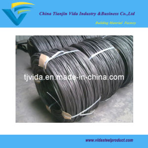 Black Wire/Black Hard Drawn Nail Wire for Nails Making pictures & photos