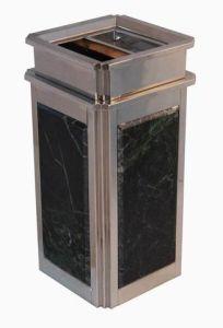 Stainless Steel Dustbin (TJ-DB-07)