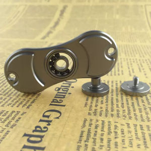 5 Color Aluminum alloy The 2 Leaf for Spinner Toy Hand Spinner and Metal gift box pictures & photos