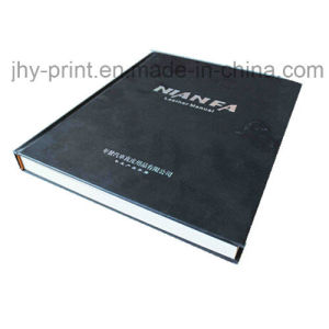 Hardcover Book with Cloth Bounding Sliver Stamping Printing Service (jhy-342) pictures & photos