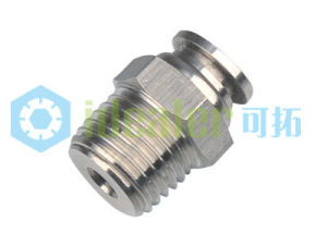 Push to Connect Stainless Steel Fitting with Japan Technology (SSPC10-01) pictures & photos