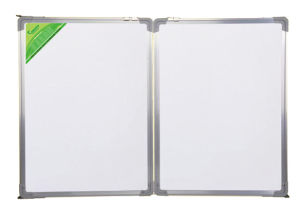 Single Side Magnetic White Board Folding Board with Aluminum Frame