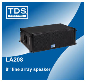 Line Array System Speaker La208 pictures & photos