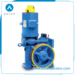 Elevator Machine, Vvvf 1: 1 Geared Traction Motor, Traction Machine (OS112-YJ180) pictures & photos