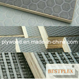 Anti-Slip Film Faced Plywood, Construction Plywood pictures & photos