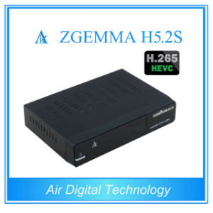 Original HD Receiver Zgemma H5.2s with H. 265 Hevc Enigma2 DVB-S2 Full HD Satellite Receiver pictures & photos