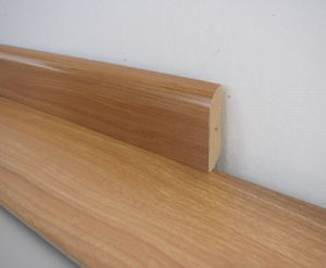 6cm Width Skirting for Laminate Flooring pictures & photos