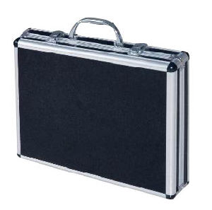 Aluminum Brief Case_Black (MX-AW1036)