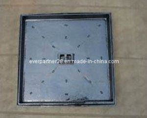 Square Ductile Iron Manhole Cover with Frame, En124 B125 pictures & photos