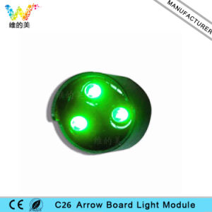 C26 3G Waterproof LED Arrow Board Sign Pixel Cluster Module pictures & photos