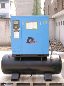 5-10 HP, Screw Compressor with on 500L Tank pictures & photos