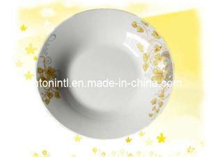 """9"""" Porcelain Soup Plate"""